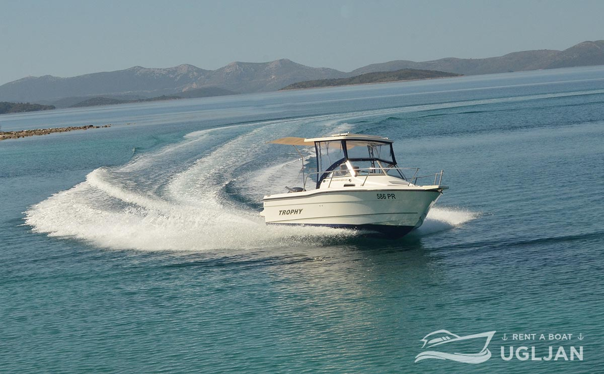 Bayliner Trophy 1802 - Rent a boat Ugljan and Pašman